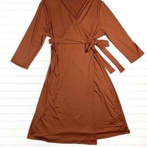 Lularoe Michelle Wrap Dress Medium BNWT